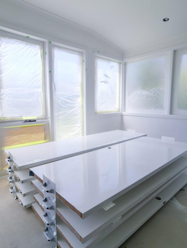 HP Geelong - Semi-Gloss Painted Doors
